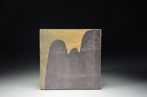 Title: Untitled. By: Akiko Uchida.  Ceramic, -Stoneware Glazed Non-functional, -Sculptural, -Tile