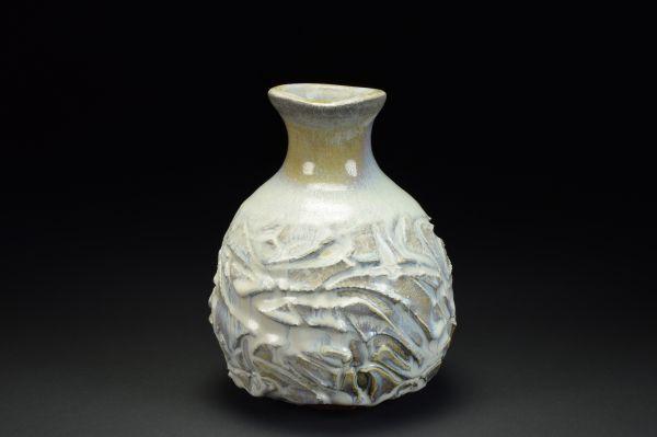 Title: Vase 708. By: Scott Bartolomei Edmonds.  Ceramic, -Stoneware Glazed, Wood-fired Functional, -Vase