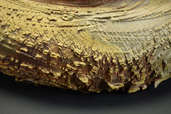 Title: Bowl 409. By: Scott Bartolomei Edmonds.  Ceramic, -Stoneware Unglazed, Wood-fired, Wheel thrown Non-functional, -Sculptural, Functional, -Bowl, -Vase