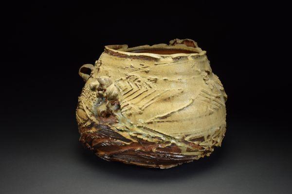 Title: Vase 405. By: Scott Bartolomei Edmonds.  Ceramic, -Stoneware Glazed, Wood-fired, Wheel thrown Functional, -Vase