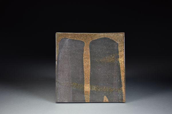 Title: Untitled. By: Akiko Uchida.  Ceramic, -Stoneware Glazed Non-functional, -Tile