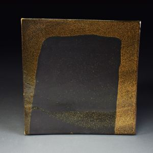 Title: Untitled. By: Akiko Uchida.  Ceramic, -Stoneware Glazed, Hand built Non-functional, -Tile
