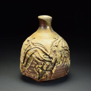 Title: Vase 619. By: Scott Bartolomei Edmonds.  Ceramic, -Stoneware Glazed, Wood-fired Functional, -Vase
