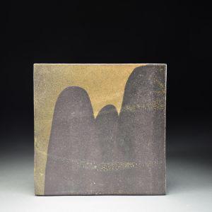 Title: Untitled. By: Akiko Uchida.  Ceramic, -Stoneware Glazed Non-functional, -Sculptural, -Tile