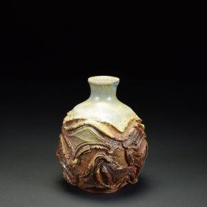 Title: Vase 560. By: Scott Bartolomei Edmonds.  Ceramic, -Stoneware Glazed, Wood-fired Functional, -Vase