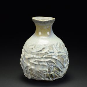 Title: Vase 708. By: Scott Bartolomei Edmonds.  Ceramic, -Stoneware Glazed, Wood-fired Functional, -Vase